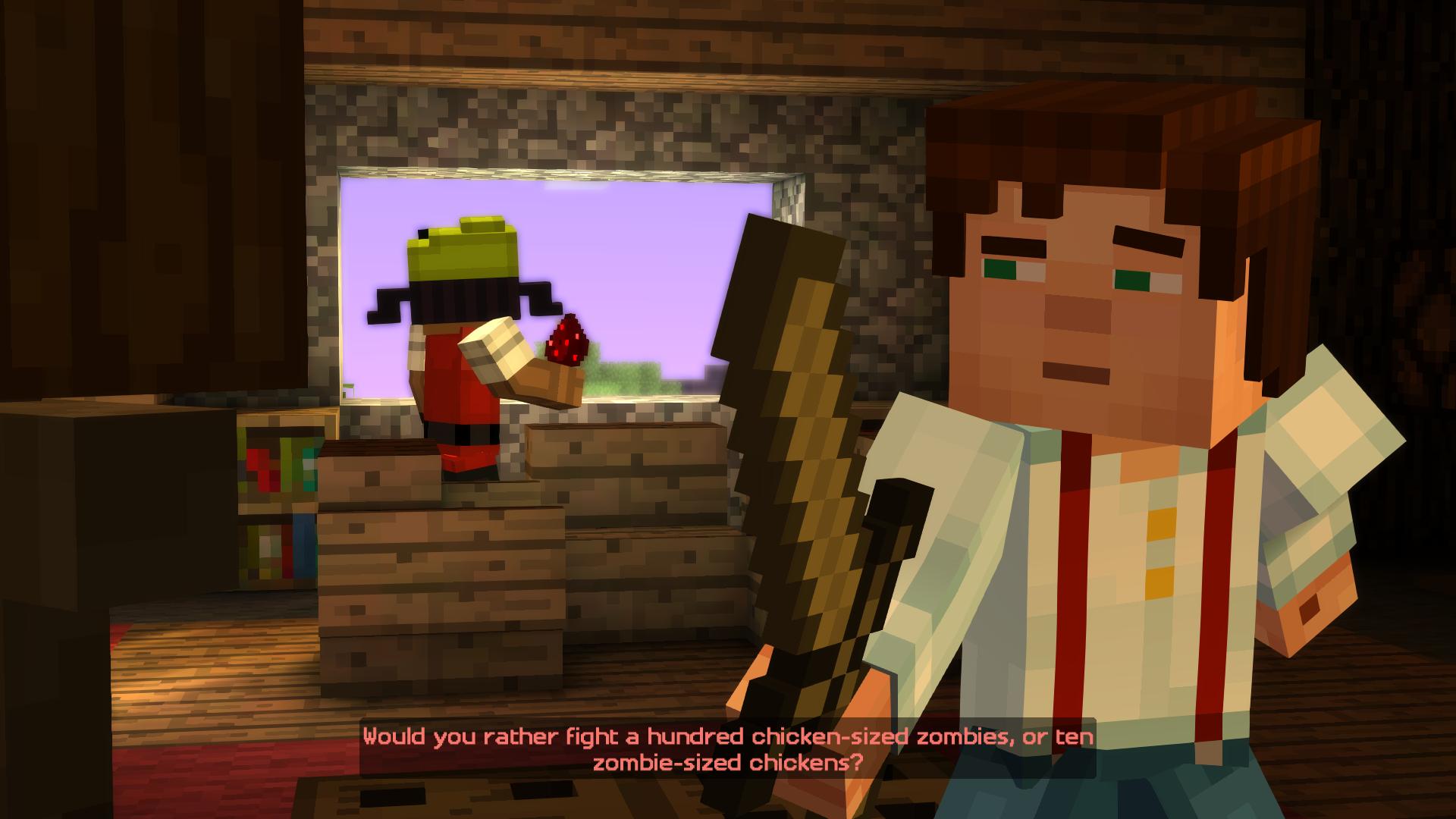 Minecraft: Story - Mode Episode 1 (2015) скачать через ...