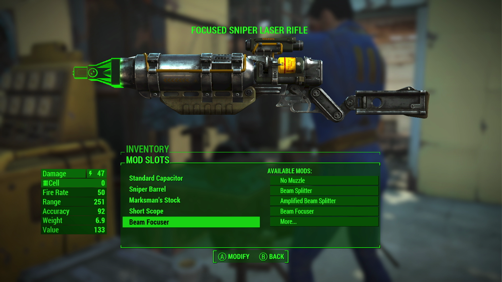 fragtist - fallout 4 weapon craft