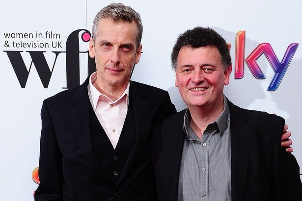 Fragtist Doctor Who Peter-Capaldi-and-Steven-Moffat