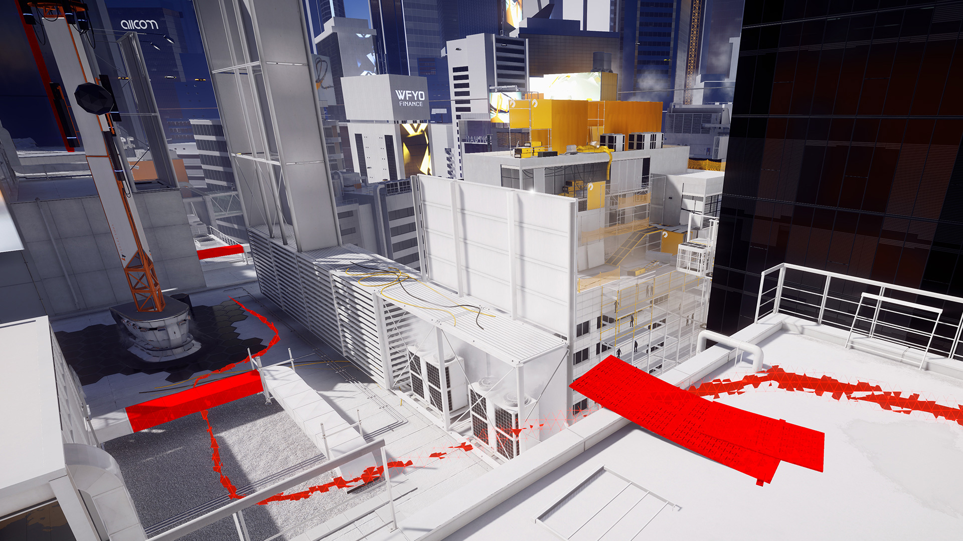 Mirror's Edge™ Catalyst Closed Beta_Runner_vision