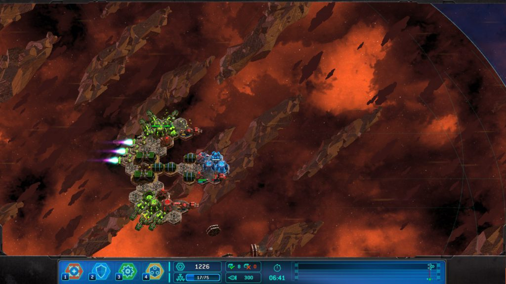 fragtist space run galaxy ingame 1